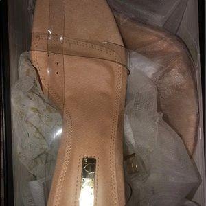 Clear Stiletto Heels